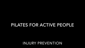 Pilates For Injury Prevention