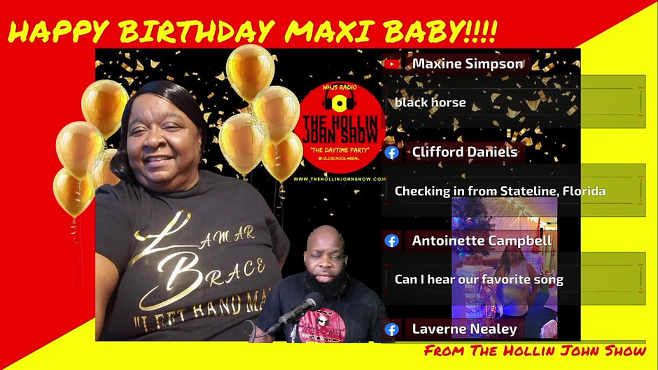 MaxiBaby's Virtual Birthday