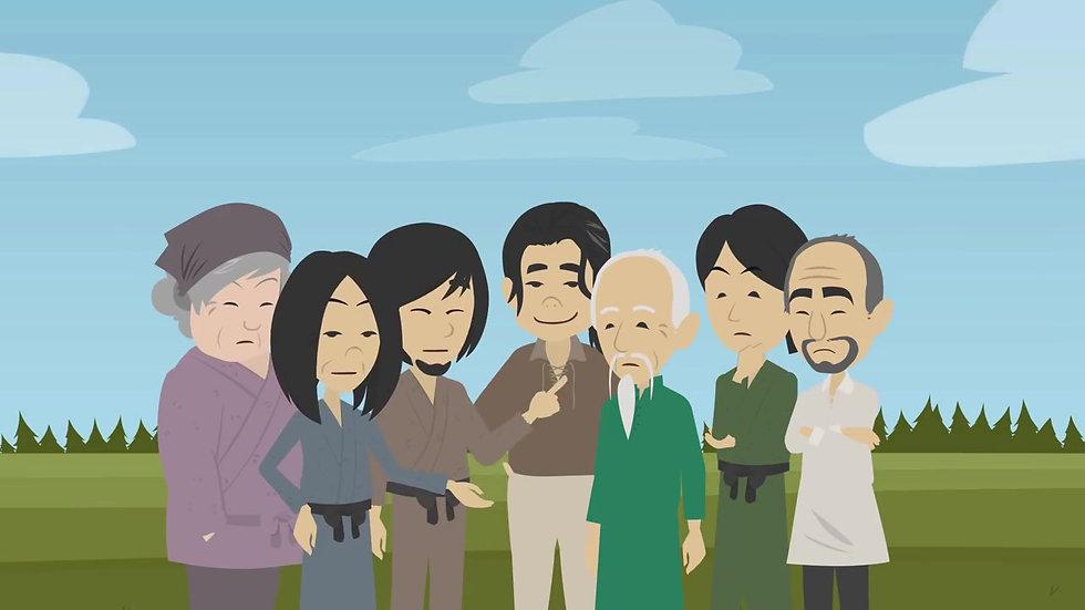 Atividade 4 - A história do Fazendeiro Chinês