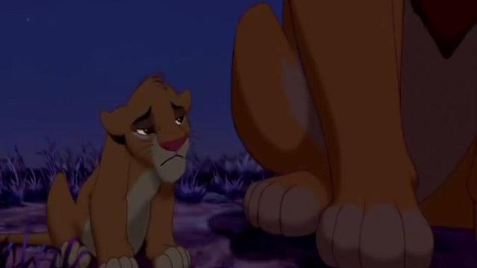 Atividade 10 - O Rei Leão - Simba e Mufasa