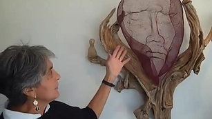 Bulgarian-Israeli Sculptor, Kaya Deckelbaum discusses -Man and Bird-