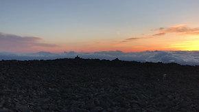 【日の入り】蓼科山頂からの大パノラマ展望