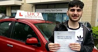 UK7 Driving School Barnet