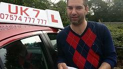 UK7 Driving School North London Practical Test