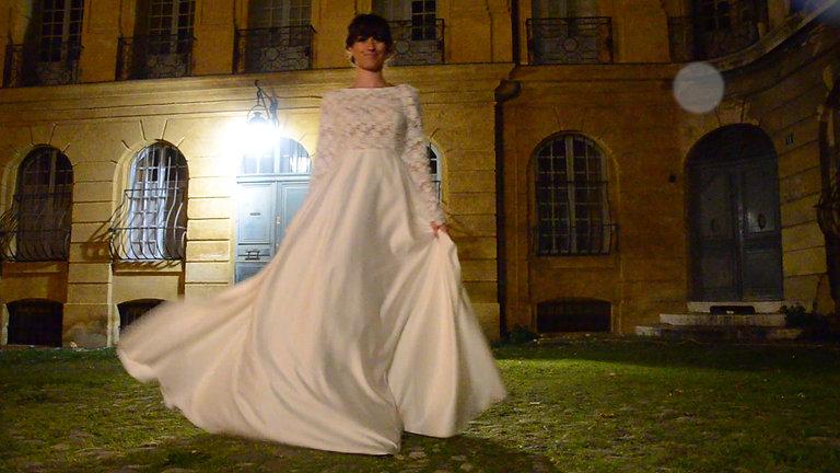 Mariage romantique à Aix-en-Provence