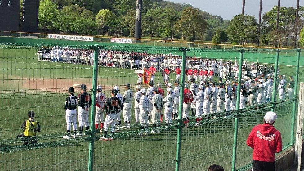 九州選抜大会開会式