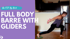 40-Minute Full Body Barre With Gliders