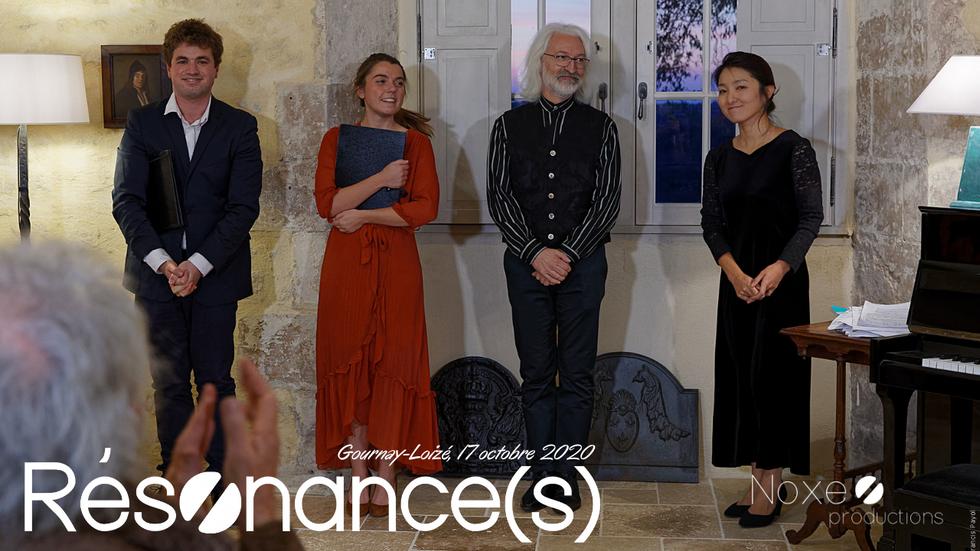 Résønance(s), récital lyrique en ligne depuis Gournay-Loizé
