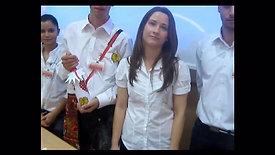 """""""Sângele Olteanului"""" - Proiect susținut de echipa Mândreanu Silvana, IMAPA II, în decembrie 2011 (clip publicitar și dialog cu echipa)"""