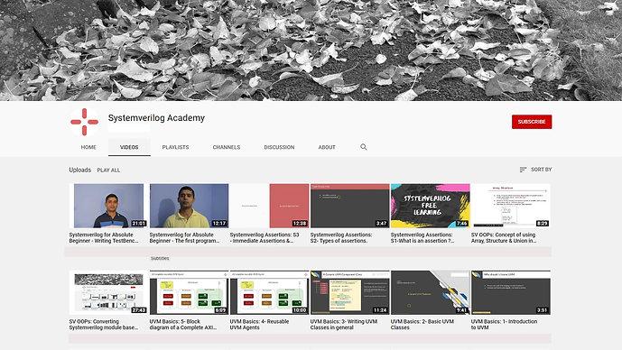 Systemverilog Academy