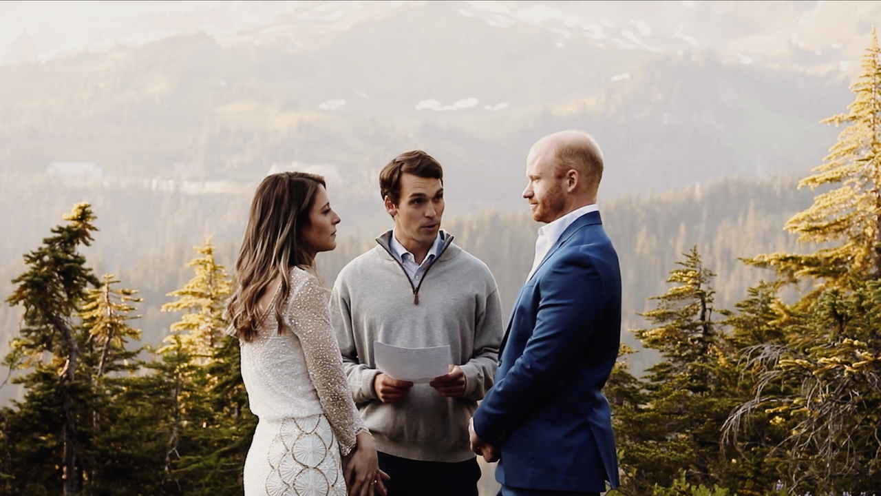 Will + Becca: Mt. Rainier Elopement