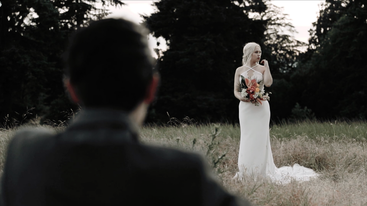 Elopement in Discovery Park, Seattle