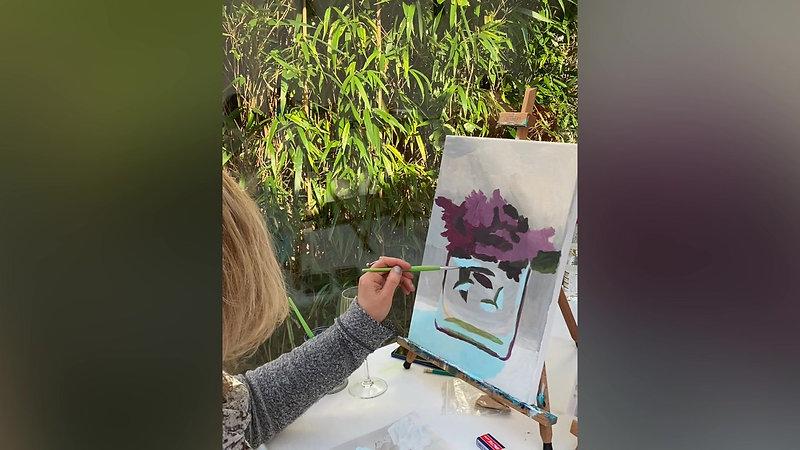 Painting & Wine @Local Club