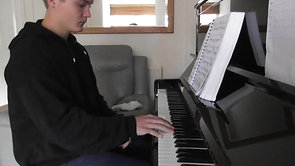 Chopin's Revolutionary Etude performed by Andrew Denbigh (2020)