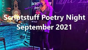 Scriptstuff Poetry Night Sept 21