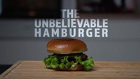 Vegetarian Hamburger Commercial