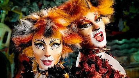 """BAGMET в мюзикле """"CATS""""."""