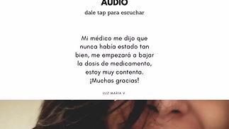 Testimonio de Luz María Vergara