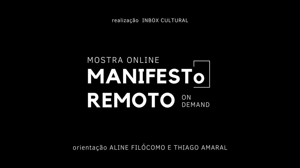 Mostra Manifesto Remoto