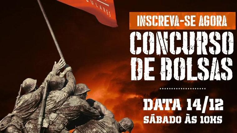 Chamada Concurso de Bolsas D'Incao