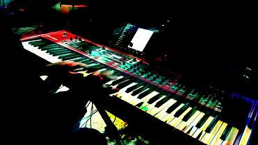 A Go Go piano solo