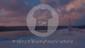 GS - Blurred Lines Tee #WearYourAdventures