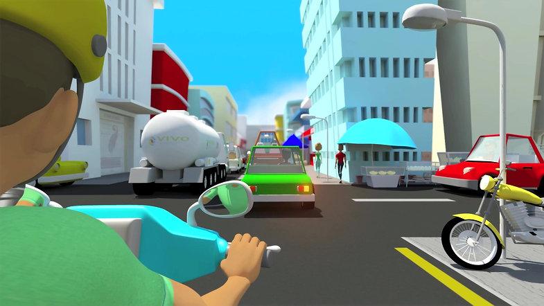 Cité Zen - Clips d'animation 3D