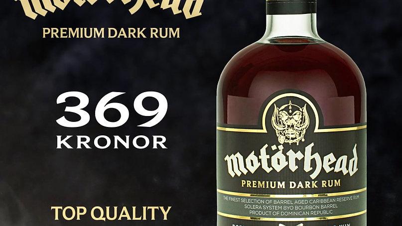 Motörhead Premium Dark Rum