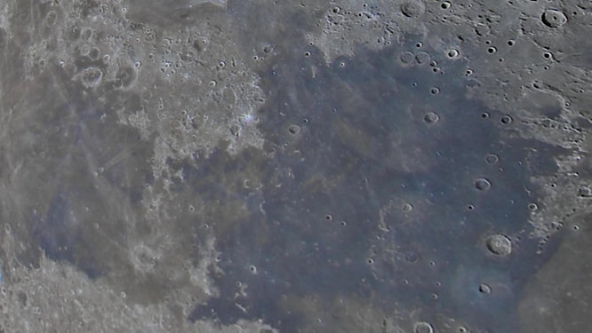 Moon video high resolution