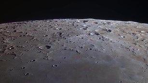 Orbiting the moon 2