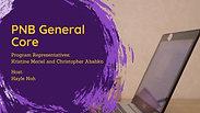 PNB Core - PNB Resource Handbook