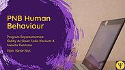 Human Behaviour - PNB Resource Handbook