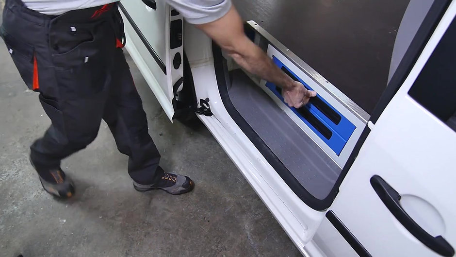 Syncro System van equipment- Underfloor drawers