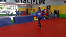 Red Stripe Belt Form