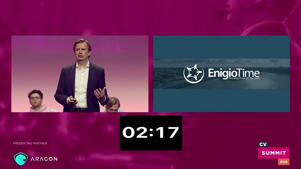 CV Summit 2018 pitch - Enigio Time