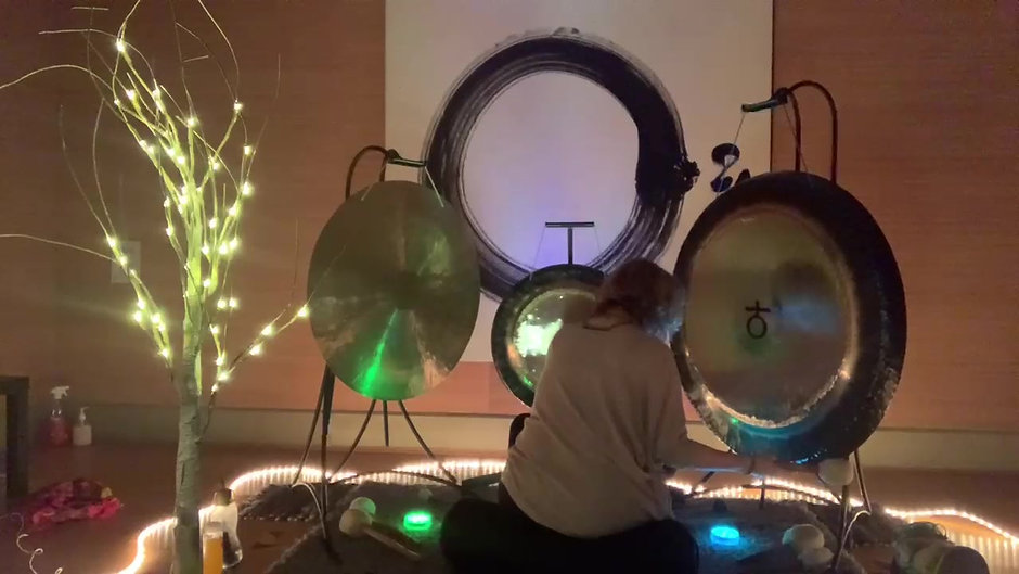 Clearing the old; welcoming the new GONG BATH AND GUIDED MEDITATION