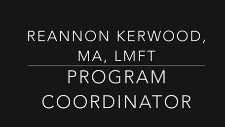 Reannon Kerwood, LMFT