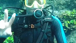 Scuba dive first time