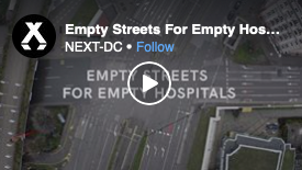 Empty Streets For Empty Hospitals