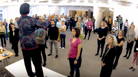 Qigong Workshop, Berlin 2013, 3.33min, Dashi Chu Kocica