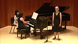 Ariettes Oubliées, Debussy, Eastman School of Music, Hatch Hall, May 2018
