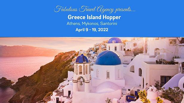 Spectacular Greece Island Hopper