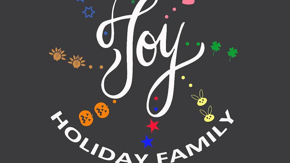 Joy Holiday Family