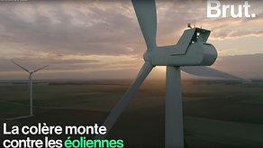Brut - La colères monte contre les éoliennes