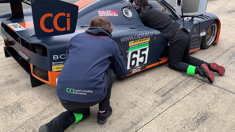 Britcar Silverstone April 2019 - Driver Change