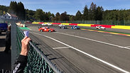 Race 2, first corner