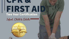 Pediatric CPR & First Aid Training