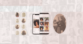 The First Social media booking app for black women