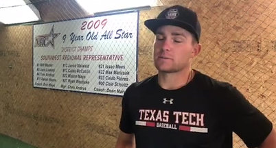 Catching up with Amarillo High grad and Texas Tech OF Max Marusak