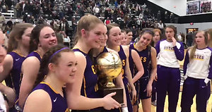 Panhandle rolls Vega in the Class 2A girls area round.